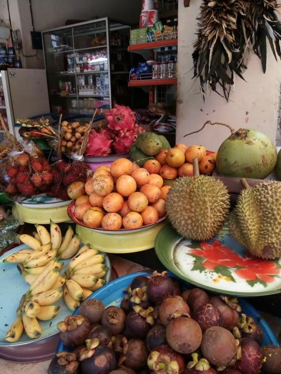 Bali regorge tout de même de nombreux fruits dont certains inconnus au bataillon.
