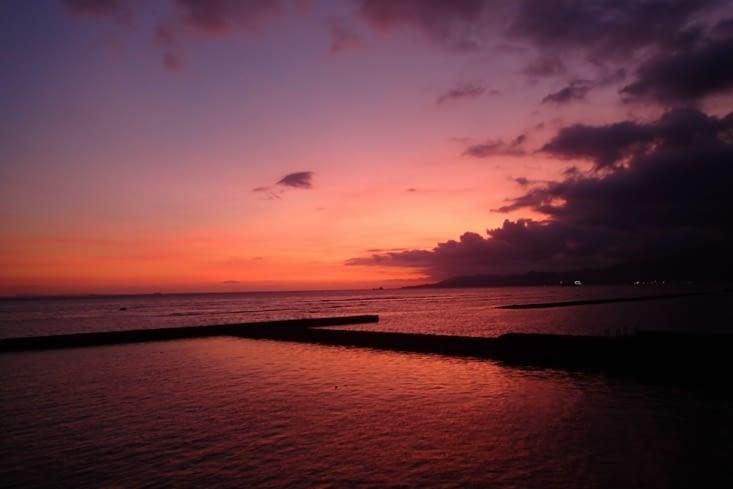 On ne pouvait pas finir par ça, alors on vous laisse avec ce magnifique coucher de soleil.