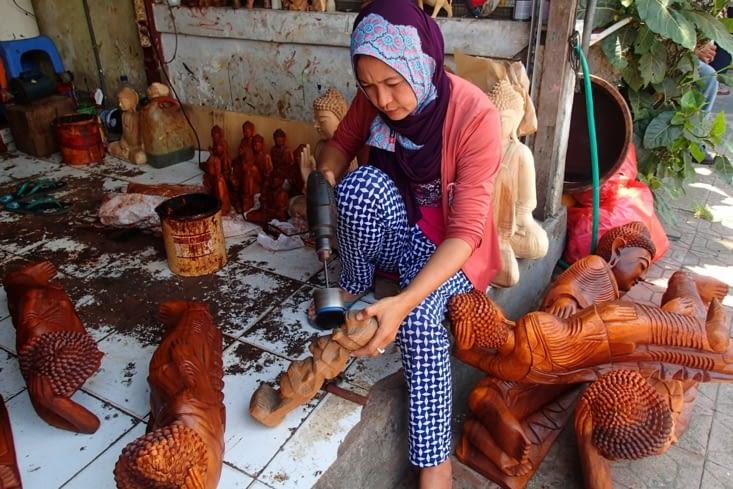 La région d'Ubud regorge de petits magasins artisanaux. Sympa pour une journée shopping !