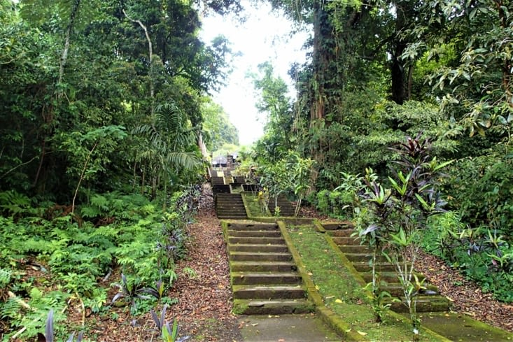 Pura Luhur Batukau : temple en plein milieu de la jungle ce qui fait son originalité !
