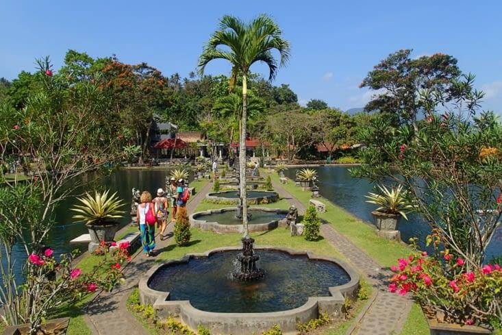 Deuxième excursion, le Palais d'eau royal de Tirta Gangga.