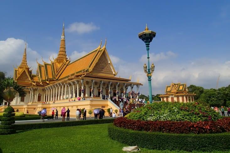 Le palais est magnifique ! On se croirait dans Mulan ? (et oui chacun ses classiques!).