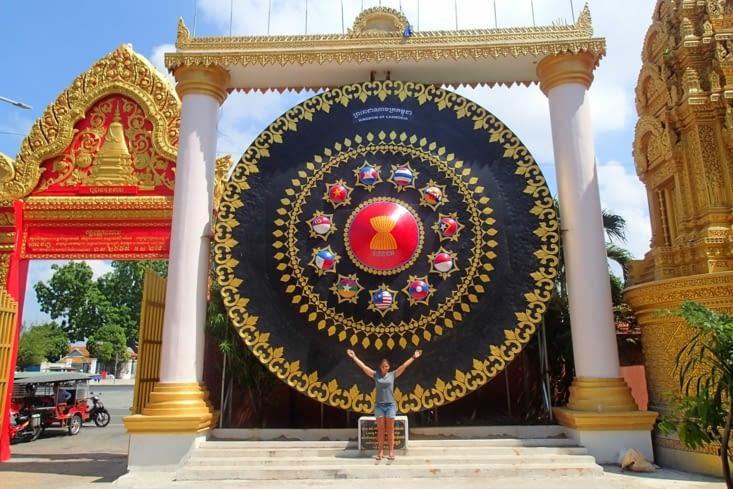 Un gong géant ! Dommage qu'on ai rien pour taper dessus ! Ça donne très envie à Guillaume.
