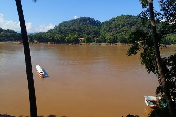 Et le cadre naturel privilégié sur la rive gauche du Mékong !
