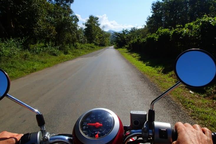 Journée exploration des environs au volant de notre petit scooter ?