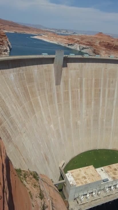 Le barrage de Glen Canyon