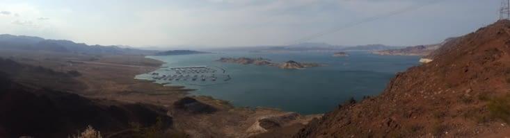 Détour par le Lake Mead et le barrage de Hoover