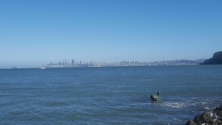 San Franscisco depuis la baie