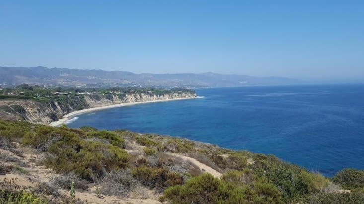 La côte de Malibu
