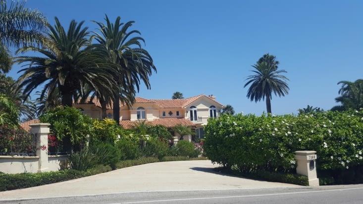 Malibu et ses petites villas