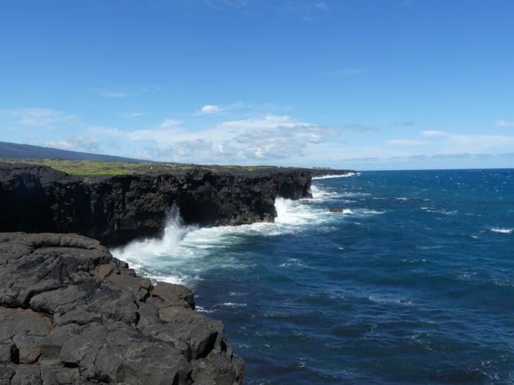 "Fin de la ""Chain of crater road"""