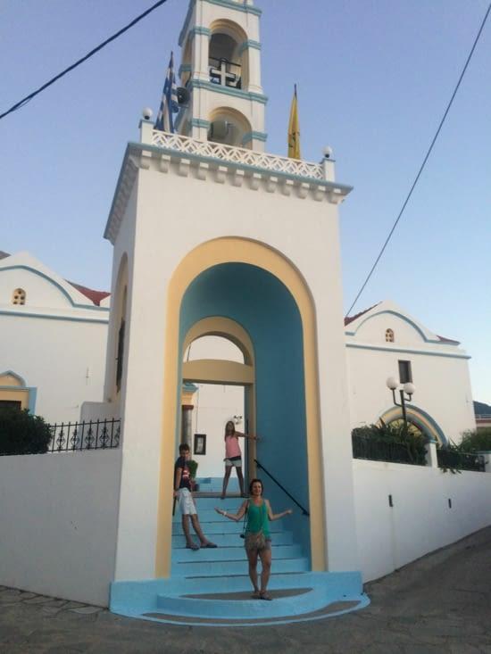 Joli village de montagne Embonas