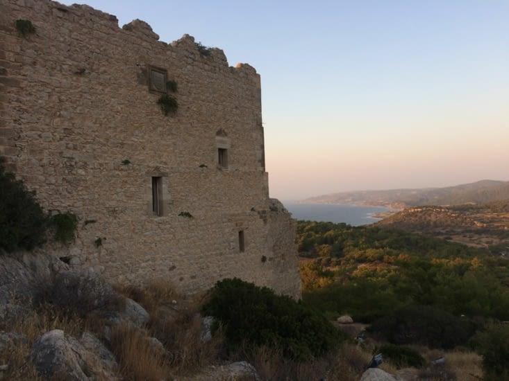 Château Kritinia autre angle de vue