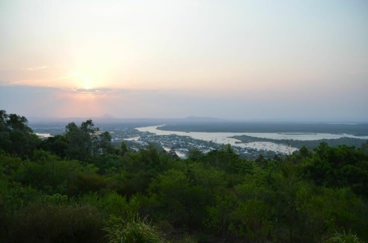 Vue sur Noosa depuis le point de vue