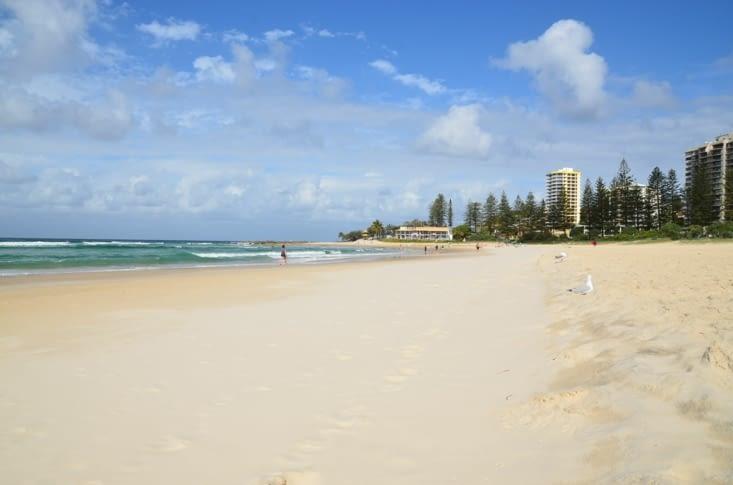 Petit aperçu d'une des plages