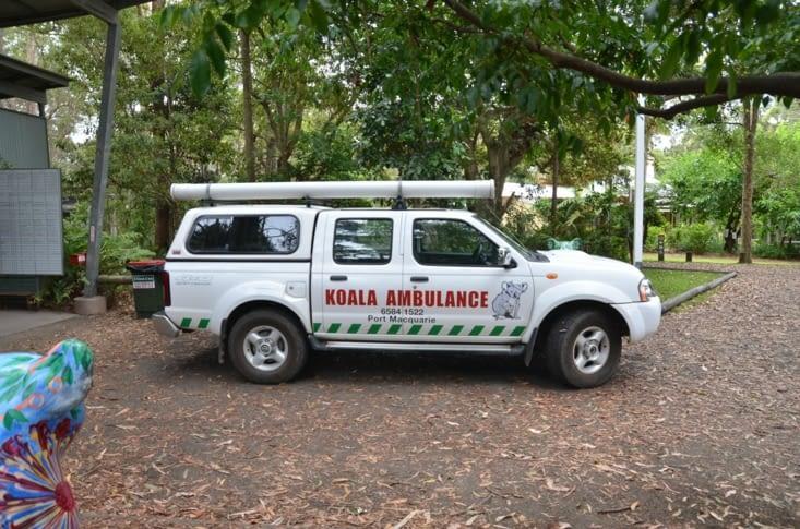 L'ambulance spéciale