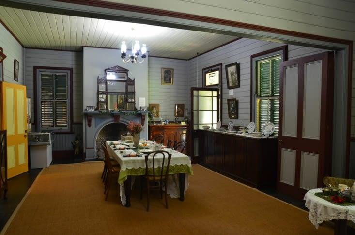 Intérieur de la Roto house