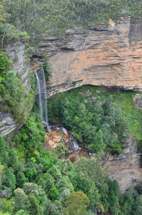 La suite des chutes de Katoomba
