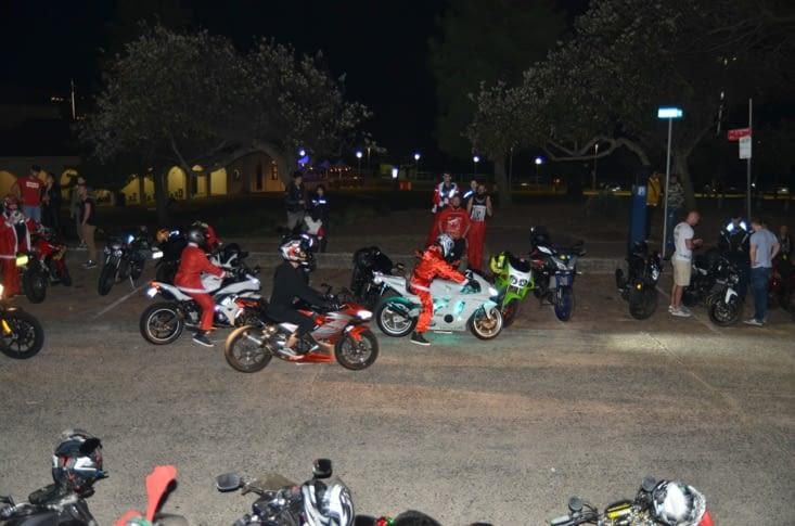 Les motards en père Noël 🎅🏼