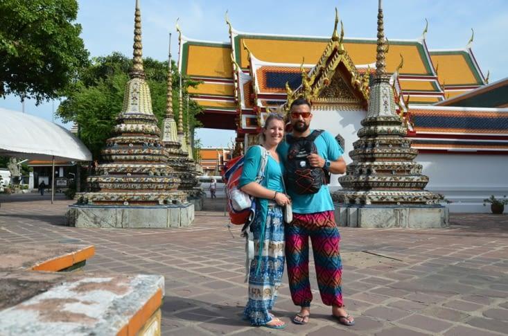 Visite du Wat Pho et du bouddha couché