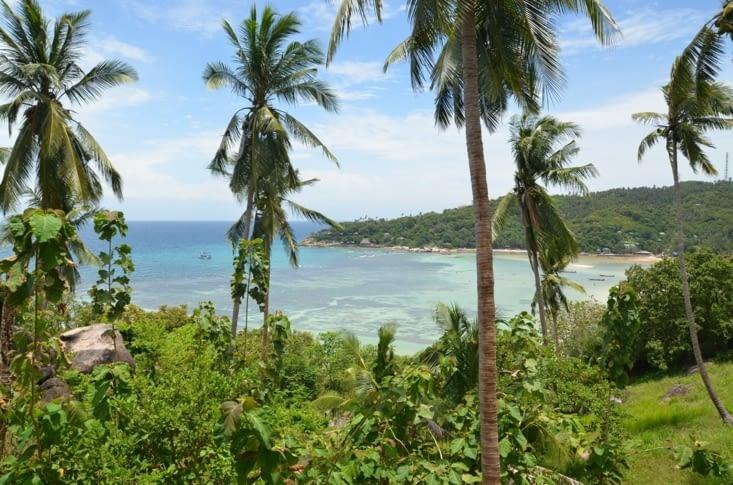 La vue sur Freedom Beach