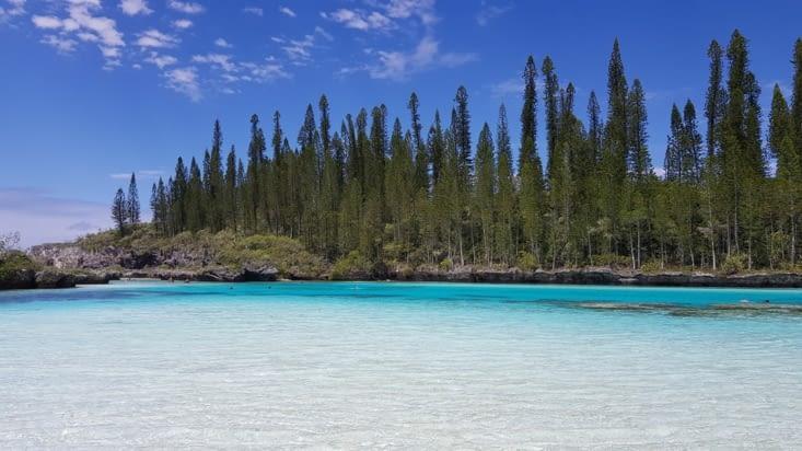 La piscine naturelle de la baie d'Oro
