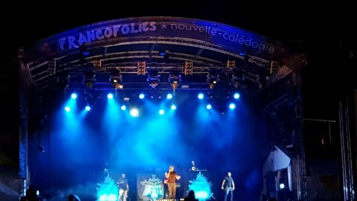 Le concert d'IAM aux Franco