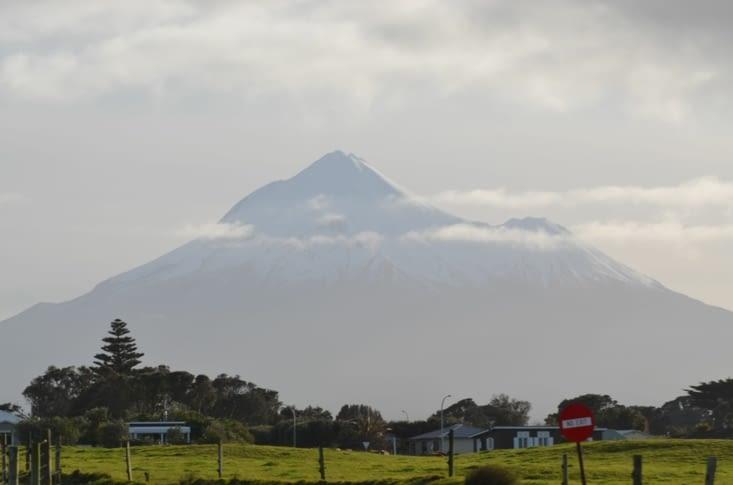 Une petite dernière photo du Mont Taranaki