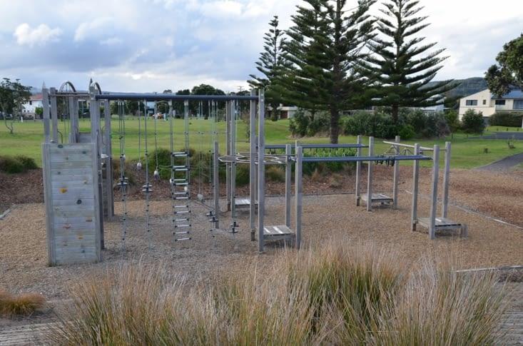 Un exemple des installations sportives extérieures, ici la version adultes !