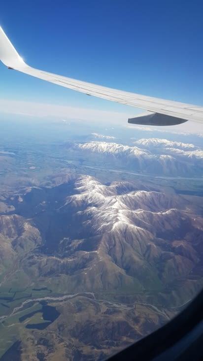 Une petite dernière vue depuis l'avion