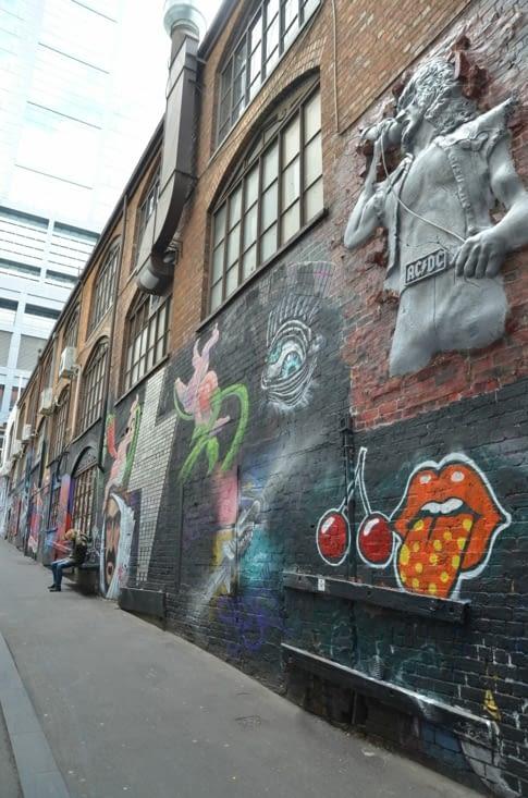 AC/DC Lane est son street art très rock 🤘