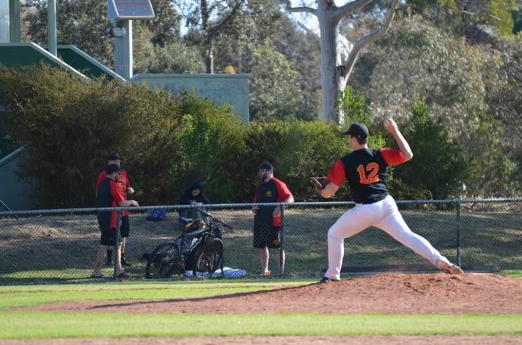 Baseball : le lanceur