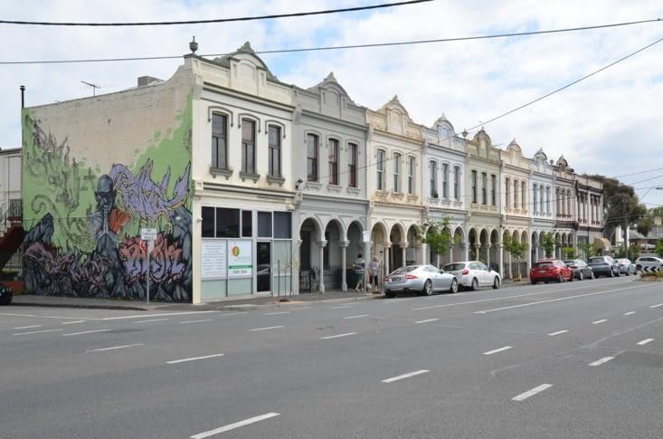 Les maisons typiques de notre rue !