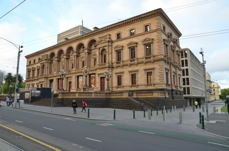 Un des nombreux musée Melbourne