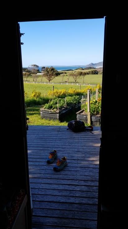 La vue depuis notre caravane 😍