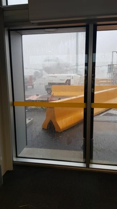 Quand c'est le déluge et qu'aucun avion ne decolle...