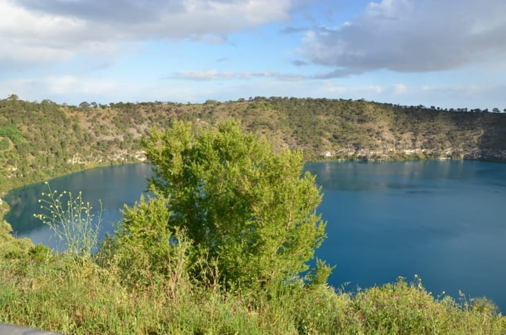 Blue lake à Mount Gambier