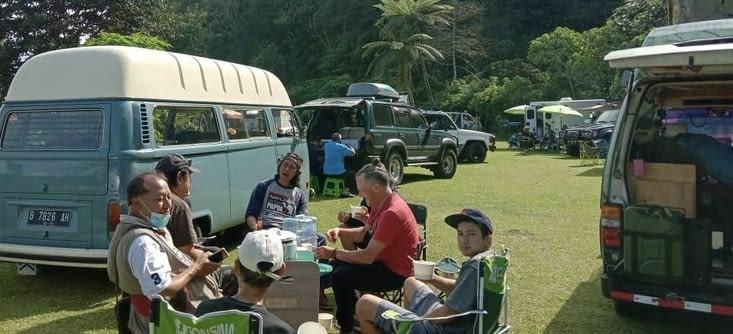 W.E campement avec le club 4x4 et WV de Bali. Merci à eux pour l'invitation