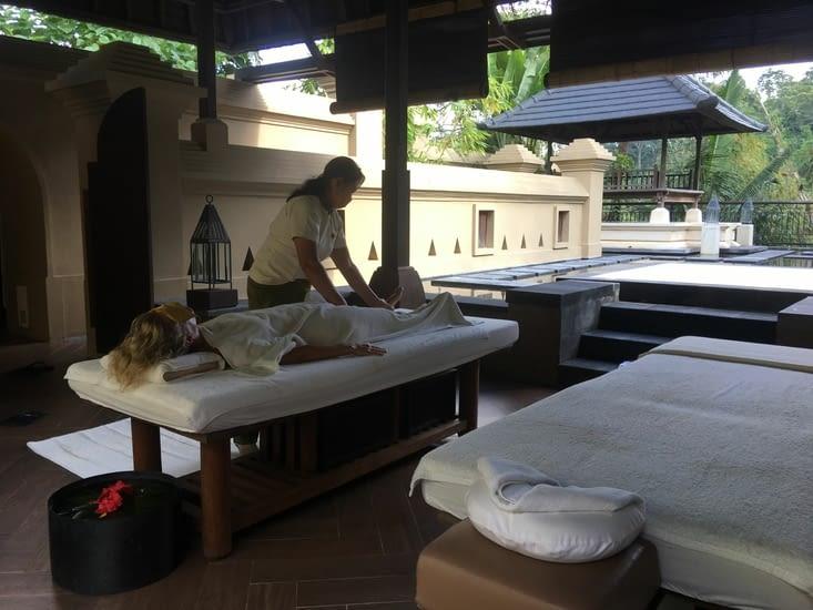 2 heures de massage dans un cadre idyllique !