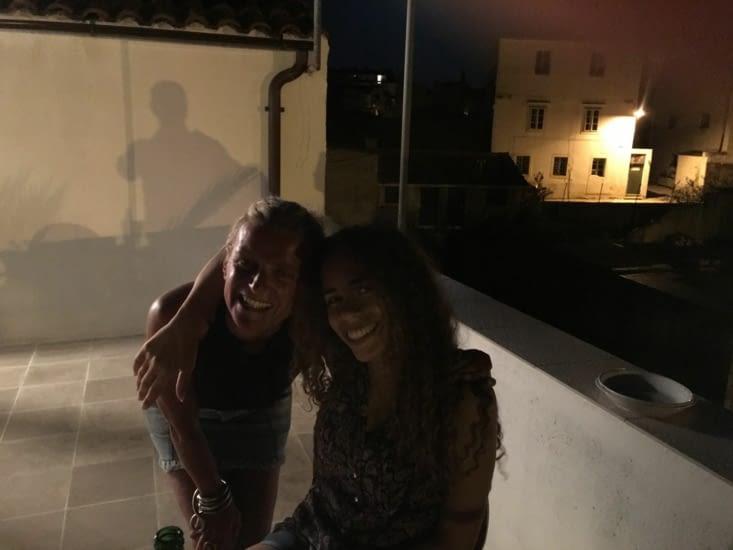 Eva & Margarita (trop mignonnes!!)
