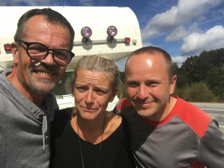 Tino, Allemand : à vélo Autriche - Vladivostok = 9000 Kms en 3 mois !