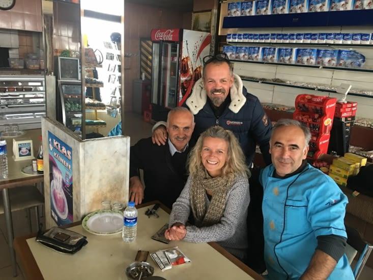 Murat : Un Resto routier (rencontré sur la route de la Cappadoce)