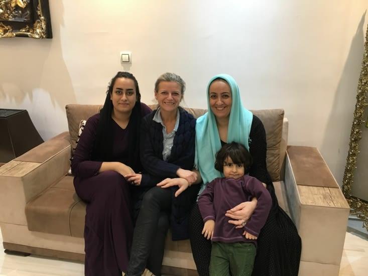 Famille d'Aref : les femmes !