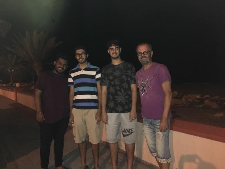 Abdullah, Raed, Ayren 3 jeunes .... comme les nôtres !!!!