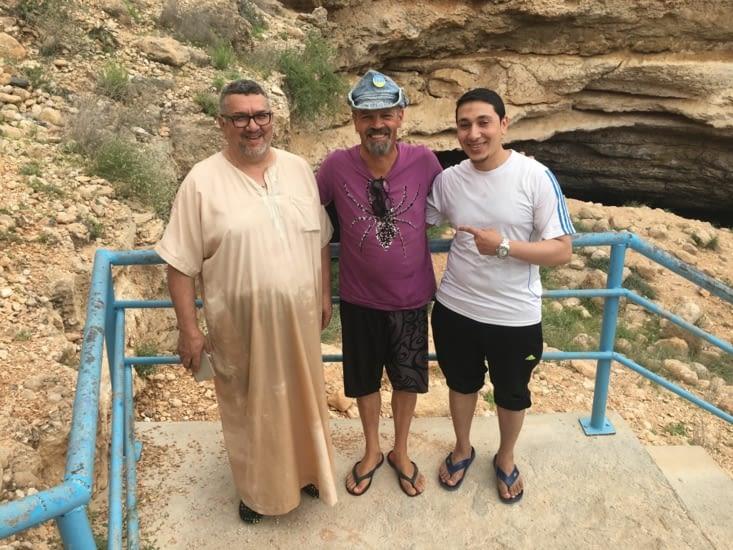 Youssouf et un ami ... Jordanien. Discussion intéressante