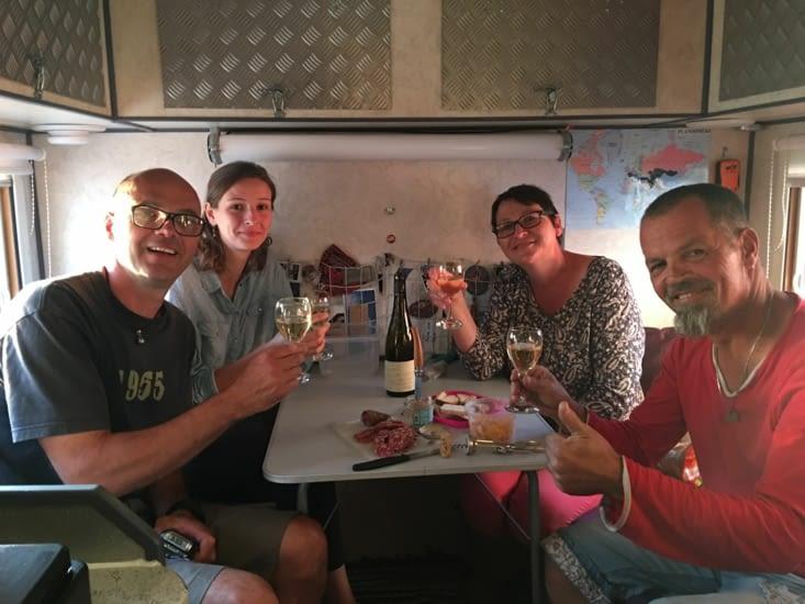 Murielle, Laurent et Oceane