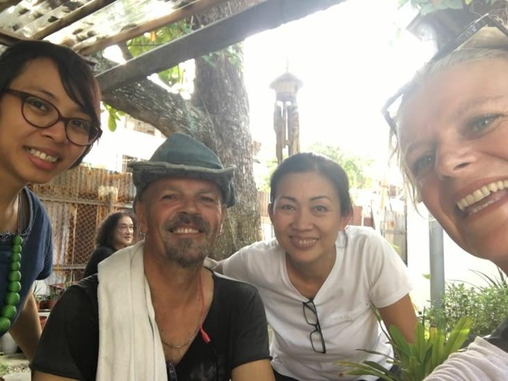 Patye (d'origine Chinoise et Catholique) et Rani Indonésienne