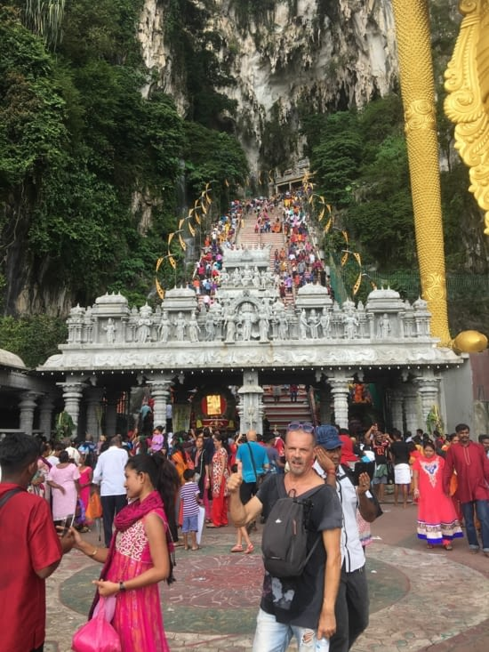 Bathu Caves in Kuala Lumpur, Malaysia