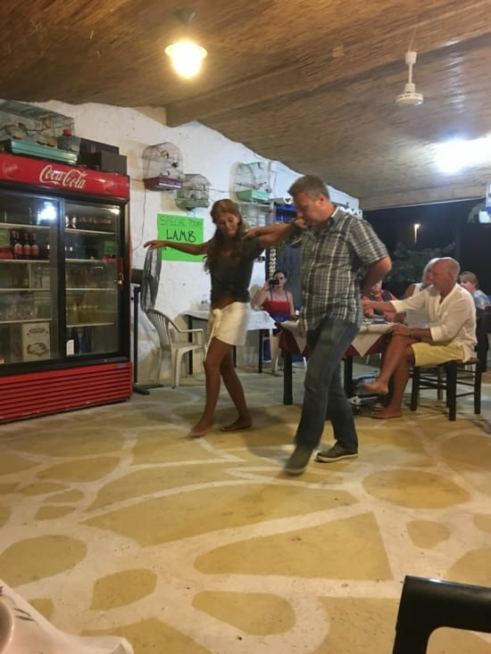 Une danse grecque ....