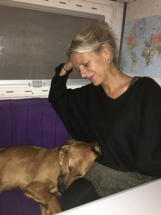 Kougla .... une chienne rencontrée en Grèce (elle nous manque énormément !)